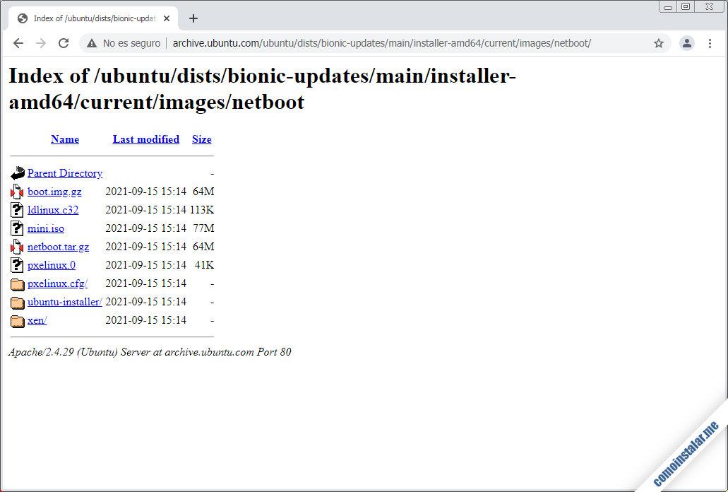como descargar ubuntu 18.04 64 bits para virtualbox