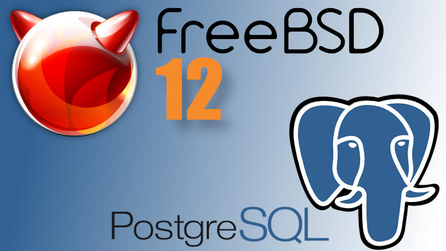 como instalar postgresql en freebsd 12