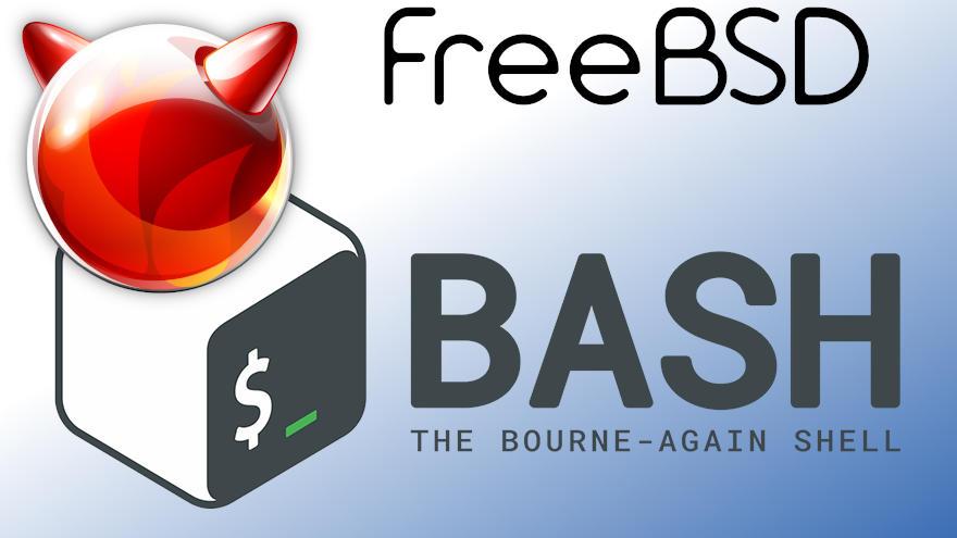 como instalar bash en freebsd 12