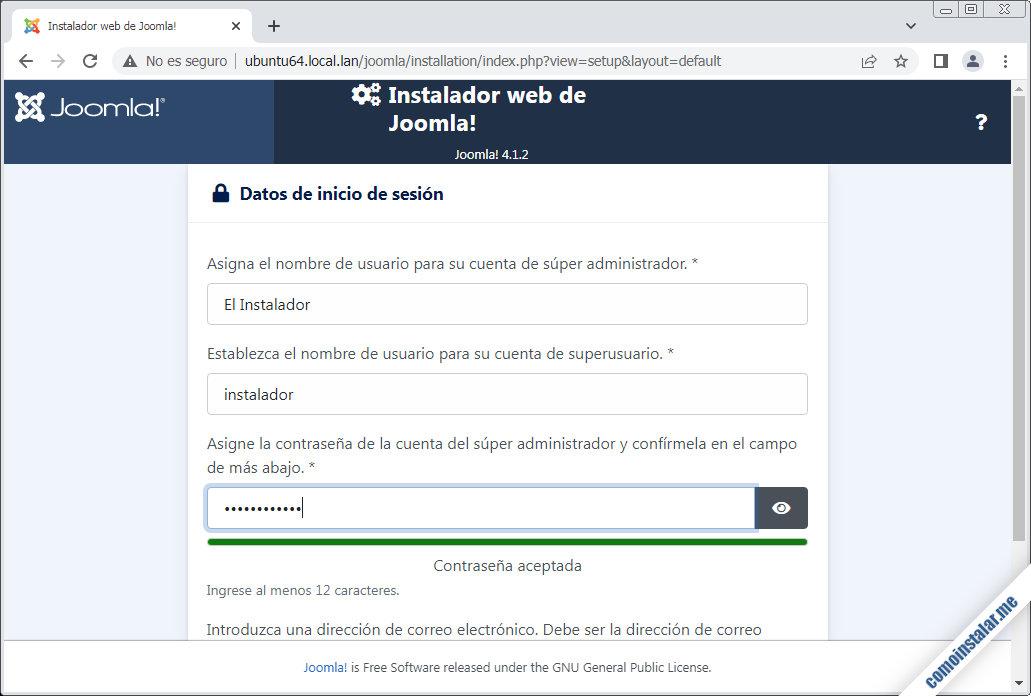 instalar joomla en ubuntu 18.04