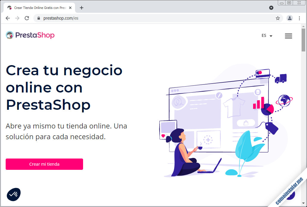 como descargar prestashop para freebsd 12