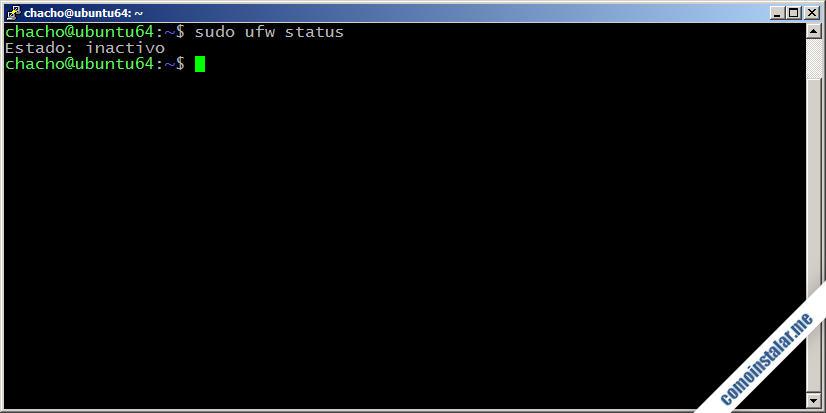 como instalar el firewall ufw en ubuntu 18.04 lts