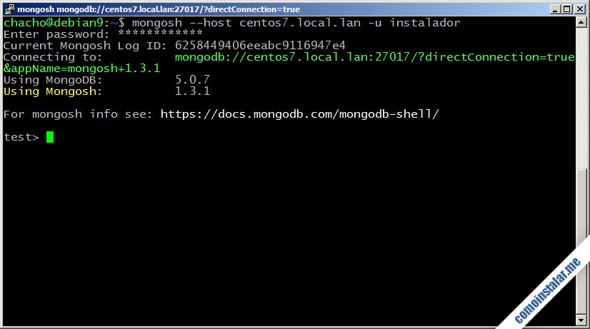 como configurar mongodb en centos 7