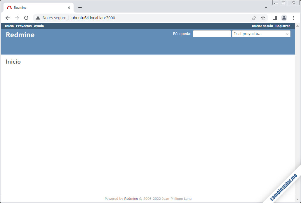 como instalar redmine en ubuntu 18.04 lts