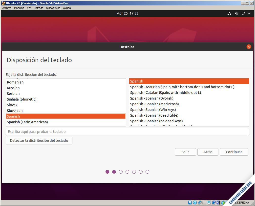 instalar ubuntu 20.04 focal fossa en virtualbox