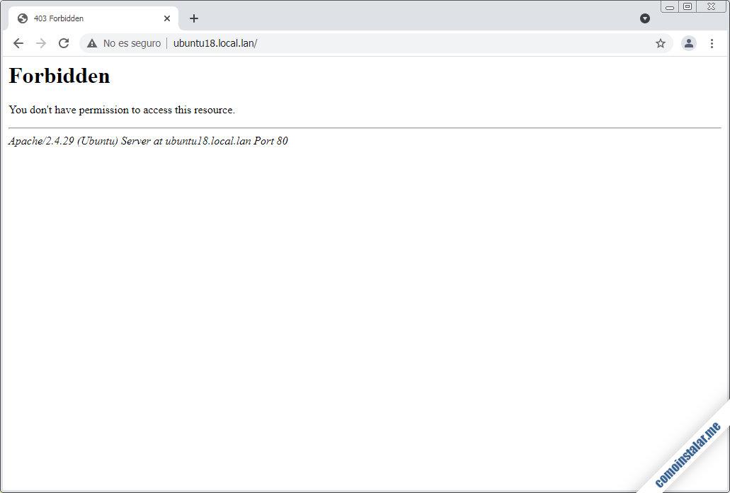 como crear servidores virtuales de apache en ubuntu 18.04 lts bionic beave