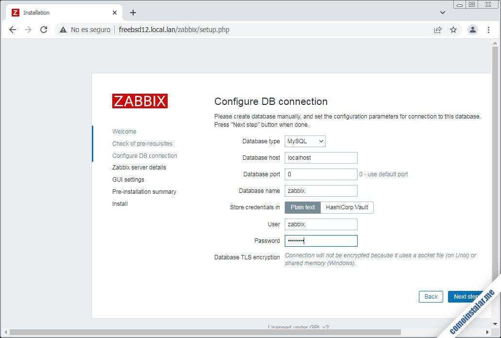 instalacion de zabbix en freebsd 12