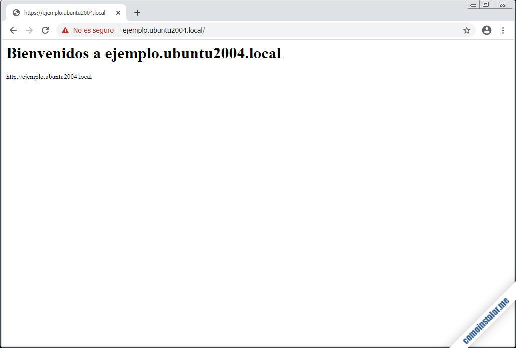 servidores virtuales de apache en ubuntu 20.04 lts focal fossa