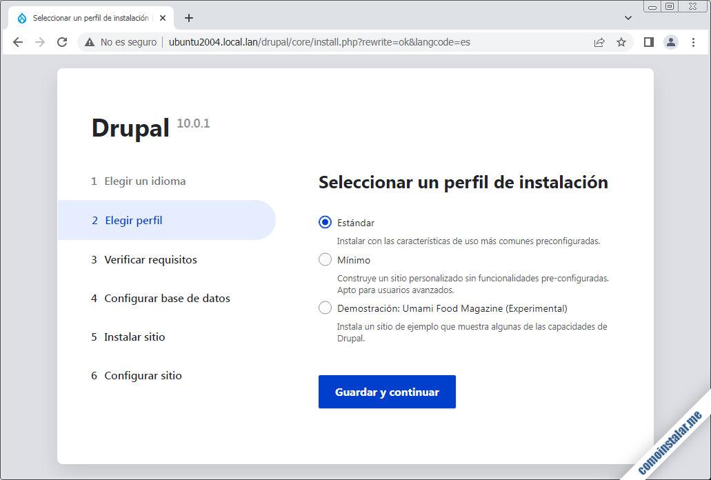 instalar drupal en ubuntu 20.04 lts focal fossa