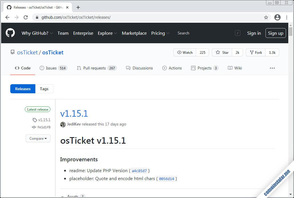 como descargar osticket para ubuntu 18.04 lts bionic beaver
