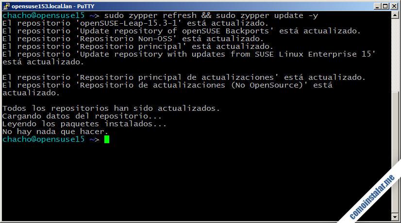 como configurar openSUSE Leap 15.2 para conectar a traves de proxy