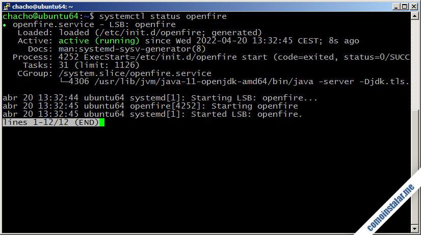 como instalar openfire en ubuntu 18.04 lts bionic beaver