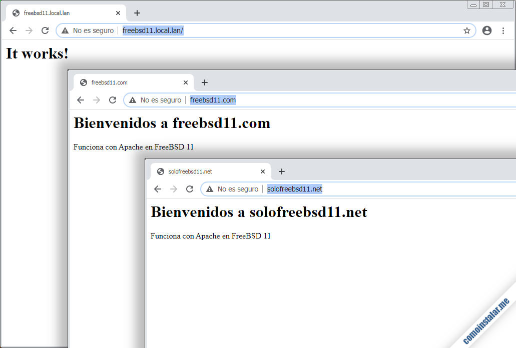 servidores virtuales de apache en freebsd 11