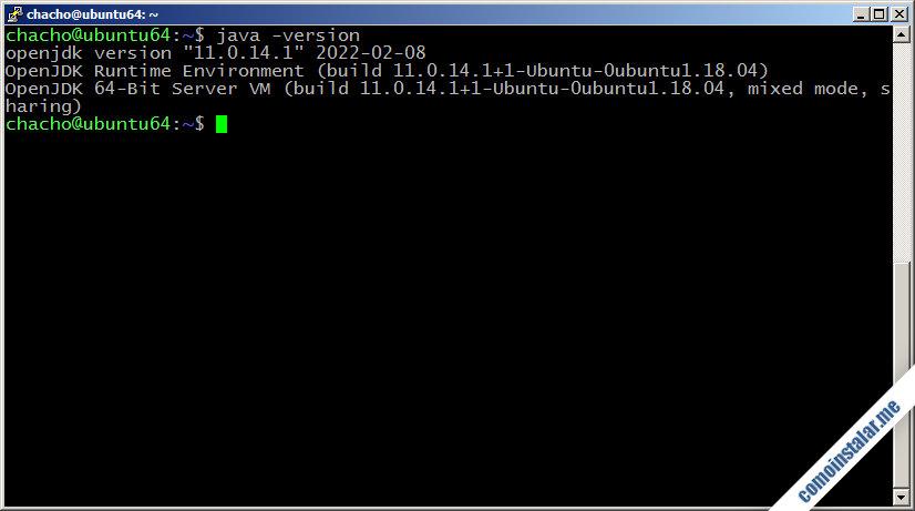 como instalar java en ubuntu 18.04 lts bionic beaver