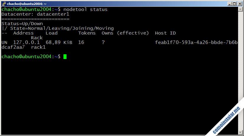 instalar cassandra en ubuntu 20.04 lts