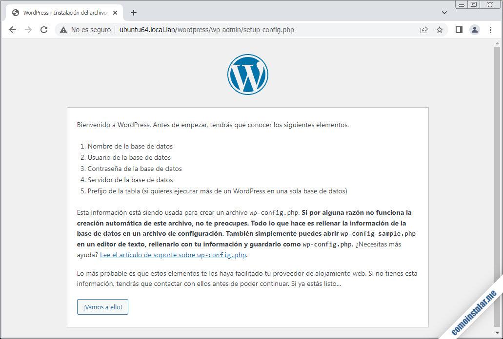 como instalar wordpress en ubuntu 18.04 lts
