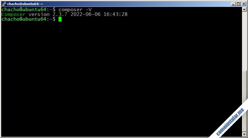 como instalar composer en ubuntu 18.04 lts