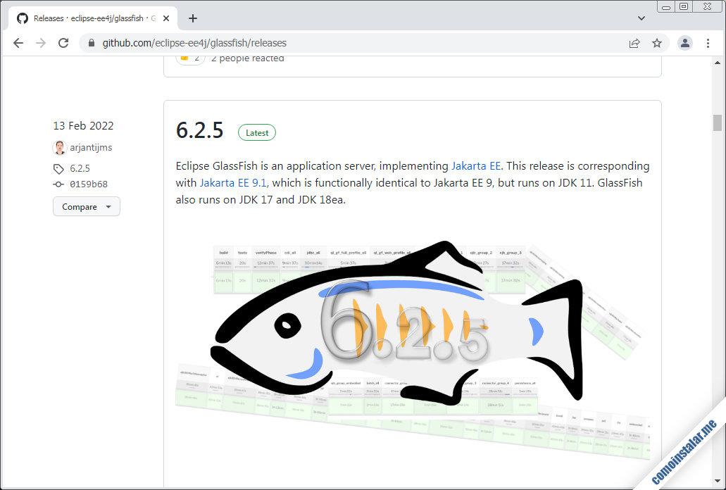 como descargar glassfish para openSUSE Leap 15